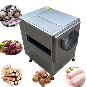 Ceindustrial Type de brosse racine Cassava carotte de gingembre frais gingembre laveuse éplucheuse machine de lavage machine à nettoyer 200 kg / h