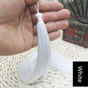 2pcs 33cm Très longue tresse Tassel Bijoux DIY Home Home Rideau textile Vêtement Décoratif Making Charms Pendentifs Craft Tassels H Jllbxj
