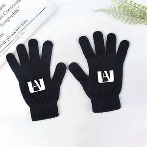 My Hero Academia Midoriya Izuku Anime Knitted Gloves Cartoon Gloves Men Fashion Warm Mittens Gifts