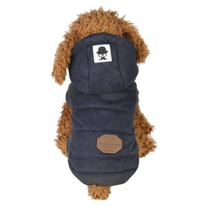 Pet dog cotton coat, warm pet coat, puppy clothing, dog vest, vest, autumn and winter season, cotton vest