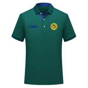Club America Sommer Mode Baumwolle Fußball Poloshirt Männer Kurzarm Retuel Polo Fußball Männer Polo Hemd Training Jersey