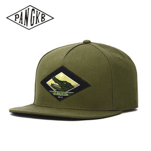 PANGKB Brand SNAP CAP OLIVEMC ONE crocodile hip hop snapback hat Autumn for men women adult outdoor casual sun baseball cap bone 201019
