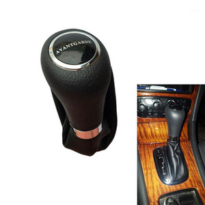 Automatic AT Car Shift Gear Knob With Leather Boot For C Class W203 W209 CLASSIC AVANTGARDE ELEGANCE1