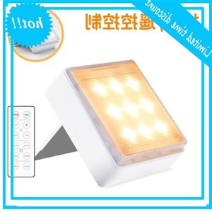 New LED wall dimming time pressing remote control stairs corridor bracket placing cabinet lamp