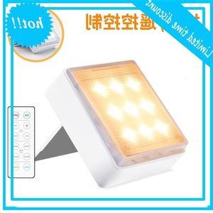 Nova parede LED escurecimento tempo pressionando escadas de controle remoto Suporte corredor colocando lâmpada de gabinete