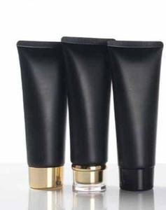 Black 100ML пластиковый крем для крема 100 г макияж косметический уход за кожей лосьон для ухода за кожей тюбик сливочный сыр упаковки контейнеры бесплатная доставка