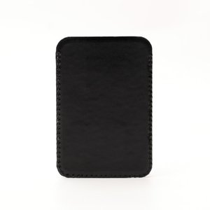 Card Holder Fashion Genuine Leather Wallet for iPhone 12 Mini Pro Max Business Credit Cards Sleeve