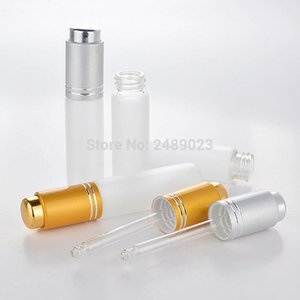 20ml Portable Frosted Glass Refillable Empty Dropper Bottle with Pipette Makeup Cosmetic Essential Oil Sample Bottles 50pcs lot