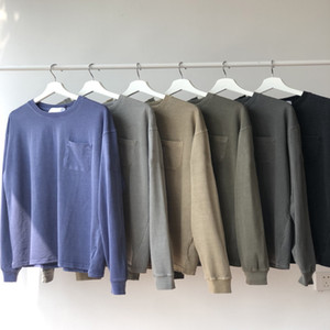 Dropship Hommes desiger T-shirt Pull en molleton lettres Casual Hommes Hoodies Hip Hop Streetwear Sweat-shirt Taille M-XL # 11102