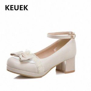 New Children Shoes High Heels Girls Breathable Dress Party Dance Shoes Princess Baby Toddler Kids Leather 02C wWi7#