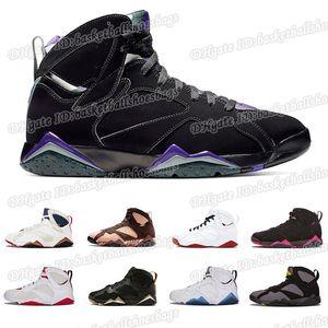 Basketball 2019 Hot 7 Shoes Men Women 7s Vii Purple Unc Bordeaux Olympic Panton Pure Money Nothing Raptor Zapatos Trainer Sport Sneaker Bsb