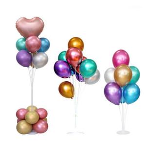 1Set Balloon accessoires Balloon Support Balloon Arch Chaîne Clip Clip Colle Point Baby Douche Douche Jeune anniversaire fête de mariage Décoration1