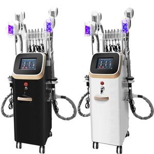 Ultrasound Cavitation Body Machine amincissant pour Centre de beauté 4 poignées Cryo Cavitation Fat gel avec planche laser Home Usage Wholesale