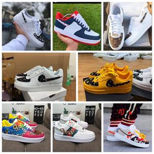 2020Hot dunk pas cher 1 Utilitaire Chaussures de course Hommes Femmes air triple af 1 forces Airforce une planche à roulettes hommes formateurs chaussures de sport
