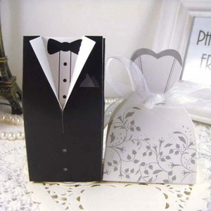 Free Shipping+New Arrival bride and groom box wedding boxes favour boxes wedding favors 108 N2