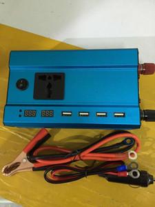 سيارة إلكترونيات القوى العاكسون محول مع 12V-220V 3000W 24V-220V 4000W 4 USB واجهات السيارات السلطة العاكس