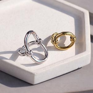 caldo di vendita 18K gli anelli placcati oro design quadrato per le donne di moda anello per le ragazze e le donne di gioielli regalo PS5437