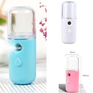 Лицо влаги водоснабжения прибор нанометр удерживает портативную косметологию женщин спрей бутылка мини-компактный увлажнитель USB горячая распродажа 5 25LB M2