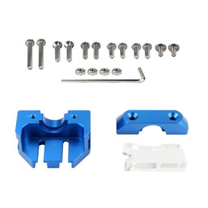 New Upgrade Printer Extrusion Head Install Kit Mounting Plate Gasket Nut 3D Printer Assembly Part for CR-10 4S CR-10 5S CR-10 MINI