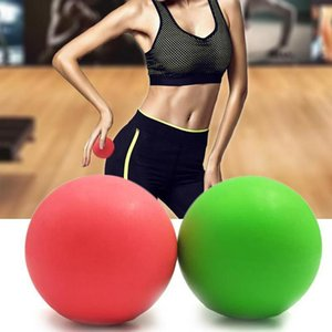 Massage ball fitness hockey rubber bat TPE 63mm trigger point relaxation automatic massage free delivery