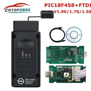 Newest op com V1.99 V1.70 V1.59 with PIC18F458 FTDI For Car OPCOM Flash Firmware update CAN BUS Car Diagnostic Tool