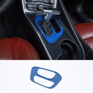 Blau-Gangschaltung-Box Panel-Trim-Abdeckung für Dodge-Challenger 2015 UP Car Styling Car Interior Zubehör