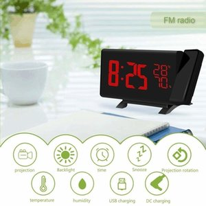 Fm Alarm Table Display Function Sn Led Radio Digital Clock Usb Projector Projection Charge Thermometer Humidness jllkIB lucky2005