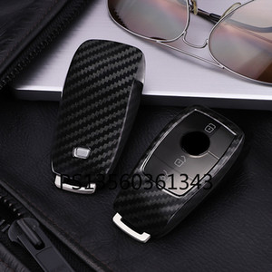 Suitable for Mercedes-Benz key cover e-class e300la200lc-class c260lc180l glc s-class shell buckle car key case