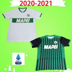 2020 2021 Sassuolo SOCCER JERSEY 100TH Centenary Berardi BOGA Locatelli 20 21 green white home away maglietta Calcio Traore FOOTBALL SHIRT