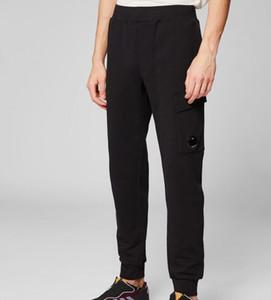 Top Quality Cp company Men Women Diagonal Fleece Lens Sweatpants Elastic Band Casual Beam Port Trousers M-XXL LT