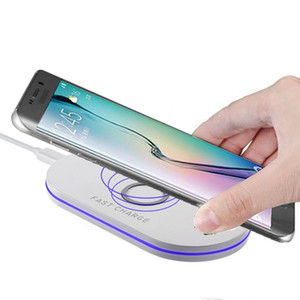 wireless charger Wireless Charger Pad For Samsung Galaxy S10 S10+ S9 S9+ S8 Note 10 9 USB Qi Fast Charging Pad With Retail Package