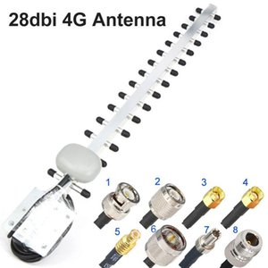 4G Antenna Yagi-Antenne 28dBi 4G LTE Sma BNC Tnc Rp Sma Male Außen Directional Booster Amplifier Modem RG58 1 .5M T200608