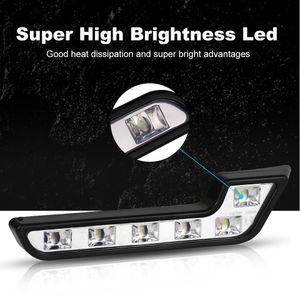 12V super helle DRL-LED-Tagfahrer Lichter für Autos Auto wasserdichte LED-Fahrer-Nebelscheinwerfer Auto-Styling