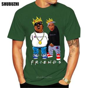 Tupac y Biggie Smalls Friens camisa de los hombres de las mujeres unisex de la manera camiseta deportiva envío Sudadera con capucha