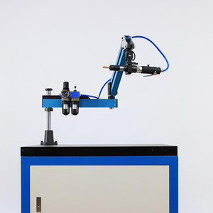 Pneumatic Tapping Machine Air Drill Tools M3-M12 Vertical Type 400RPM 1000mm Metalworking Tapper Machine Arm Collect Chucks