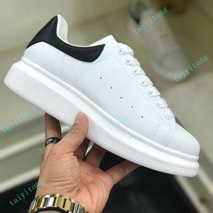 Designer di alta qualità scarpe in vera pelle moda uomo uomo moda moda bianco piattaforma scarpe piattaforma piatte scarpe casual