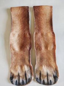 socks Four Seasons socks mens Personalized 3D Printing Animal Foot Hoof Sock Adult Printing Socks Cartoon Three-dimensional Fashion