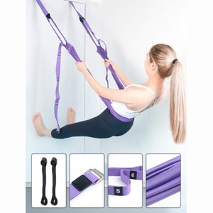 Yoga Wall Rope Open Hip Hammock Stretch Auxiliary Trainer Inverted Rope Pull Stretch Belt Home Ladies Yoga belt