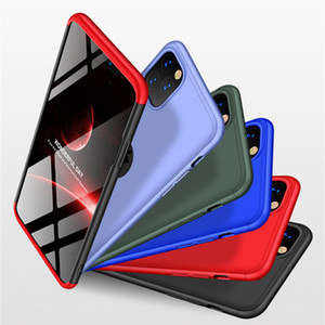3-in-1 360 Phone Case For iPhone 12 Mini 11 Pro XS Max XR x 7 8 6 6S Plus Hard Plastic Full Cover