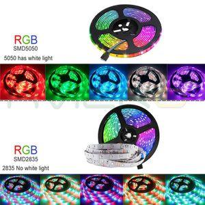 Wifi Ir Controller Rgb 5050 2835 Led Light Strip Rgb 5m 10m 15m 20m Tape Diode Dc 12v Remote Control Adapter Swy wmtwxG pthome