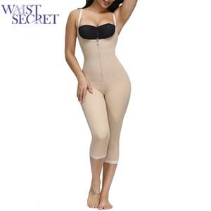 Bel Secret Bel Eğitmen Dikişsiz Karın Kontrol Tam Vücut Şekillendirici Zayıflama İç Doğum Sonrası Düğün Shapewear Korse Kuşak LJ201209
