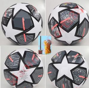 Neue 2021 Europameisterschaftsmeister Fußball 20 21 Finale Kyiv PU Größe 5 Kugeln Granulat Slip-resistenter Fußball Freies Verschiffen