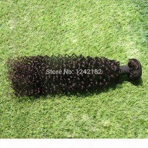 Jet Black Hair Weave бразильские девственницы глубоко извлеченные наращивания волос необработанные бразильские волосы волосы 100 г