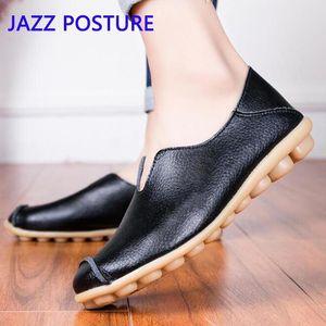 Women's casual flat shoes black blue white female fashion comfortable soft non-slip mother shoes peas y961