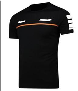 F1 Команда Одежда Футболка с короткими рукавами Спортивные Круглые Шеи TEE Гоночный Костюм Быстрые Сушильные и дышащие индивидуальные