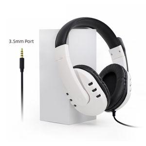 3.5mm Kablolu Gaming Kulaklık Aşırı Kulak Surround Stereo Oyun Kulaklık PS5XBOX One PS4 PC Mac ile Uyumlu Mic ile