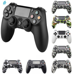 Bluetooth Wireless / Wired Joystick ل PS4 تحكم Fit Mando Console PlayStation Dualshock 4 Gamepad PC PS3 C0127
