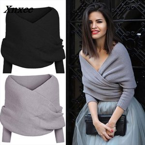 2018 Women Long Sleeve Loose Cardigan Knitted Sweater Jumper Knitwear Outwear Coat Drop Shipping High Quality