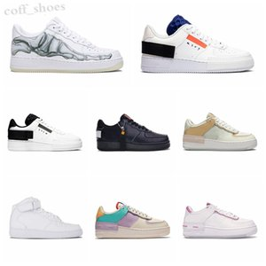 Force one 1 AF1 2020 Nuovo Designer WMNS Utility Forcd Candy Macaron Donne Scarpe da donna 1 Shadow Sport Dunnk One Sacai Skateboard Sneakers KN06