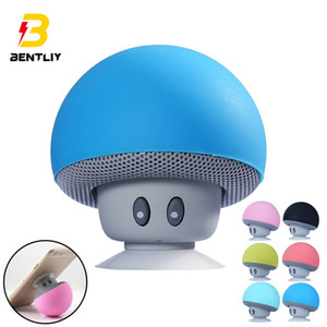 Portable Outdoor Wireless Mini Bluetooth Speaker MP3 Music Player Bluetooth Mushroom Speaker For Xiaomi iPhone Samsung PC